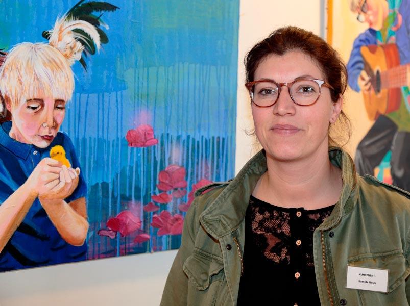 Om kunstneren Kamilla Ruus