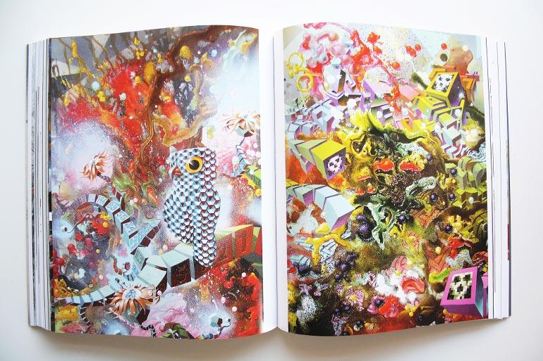 Maleri af Damon Soule fra kunstbogen Further