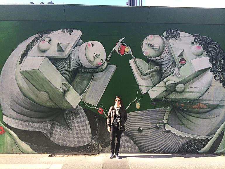 Zed1 street art i København