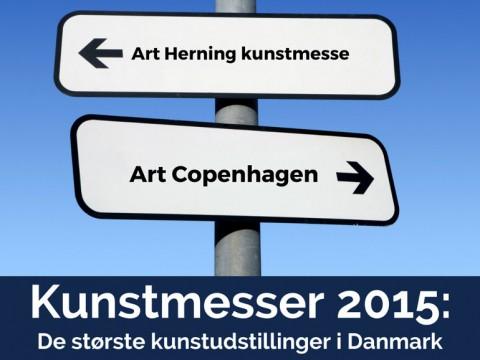 Kunstudstillinger & kunstmesser 2015 i Danmark