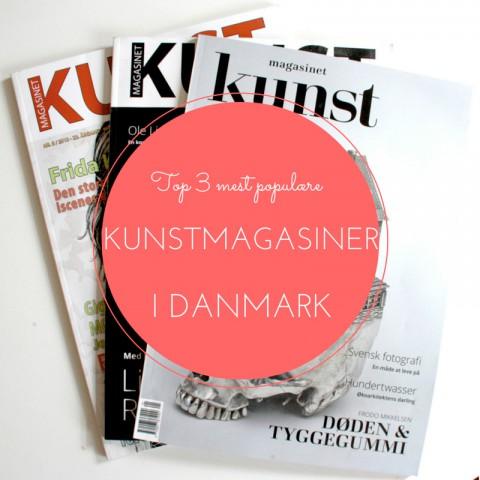 Liste over kunstmagasiner i Danmark