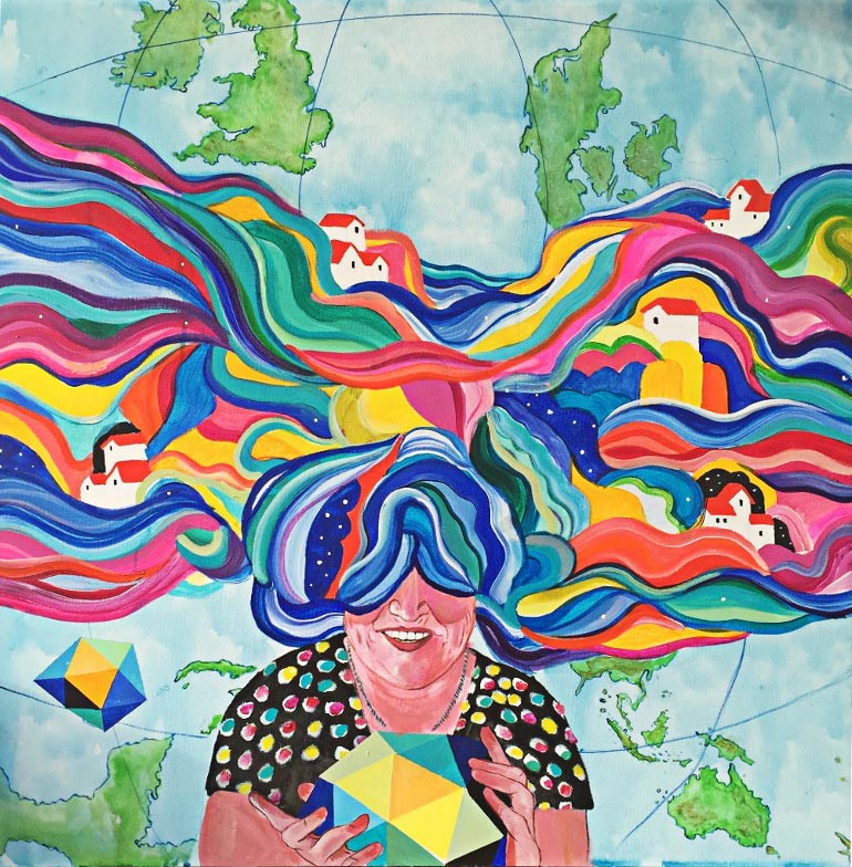 Maleriet min mor af Kamilla Ruus