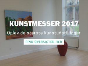Kunstudstillinger og kunstmesser 2017