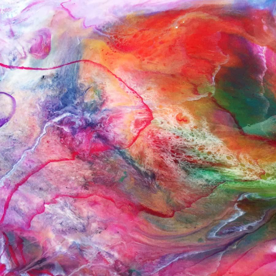 Abstrakt kunst til salg af Kamilla Ruus