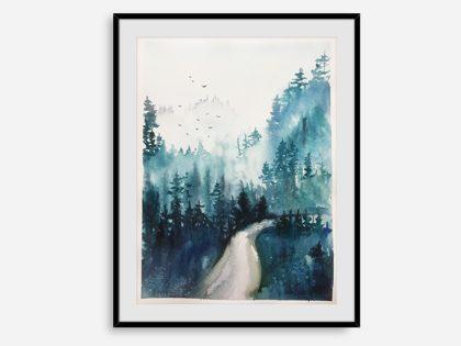 Tåget skov
