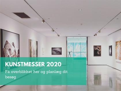 Oversigt kunst messer 2020 af Kamilla Ruus