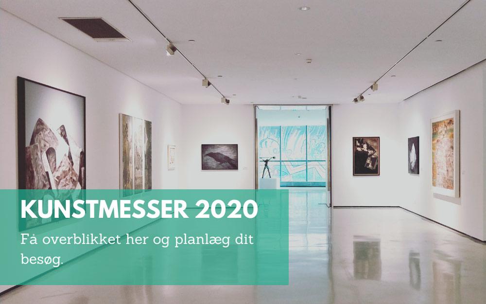 Oversigt kunstmesser 2020 i Danmark af Kamilla Ruus