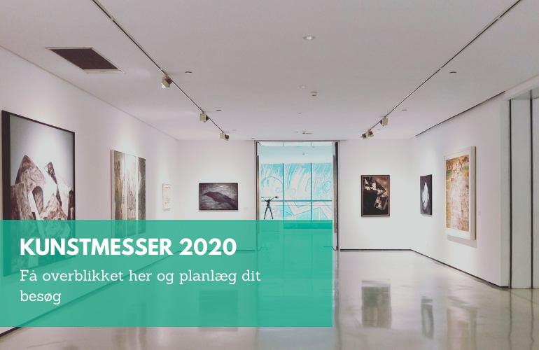 Oversigt over kunstmesser 2020 af Kamilla Ruus